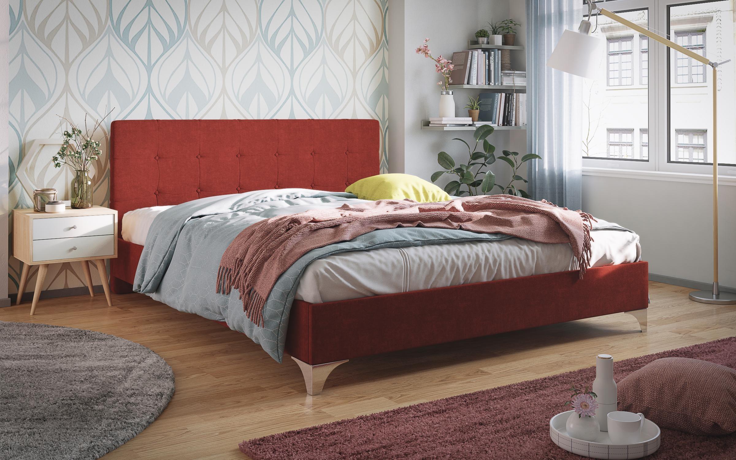 Спалня Малтина , червена