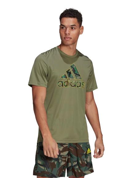 ADIDAS Тениска MEN D2M CAMO GRAPHIC 2