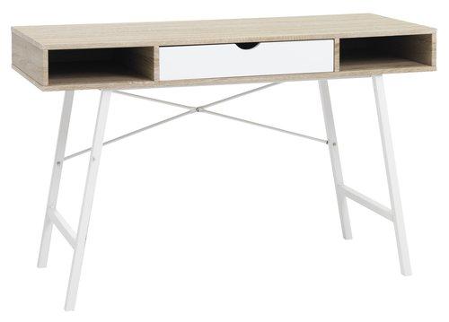 Бюро ABBETVED 48×120 дъб/бяло