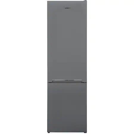 Хладилник с фризер Heinner HC-V286SF+, 288 л, Клас F, Технология Less Frost, H 180 см, Сребрист