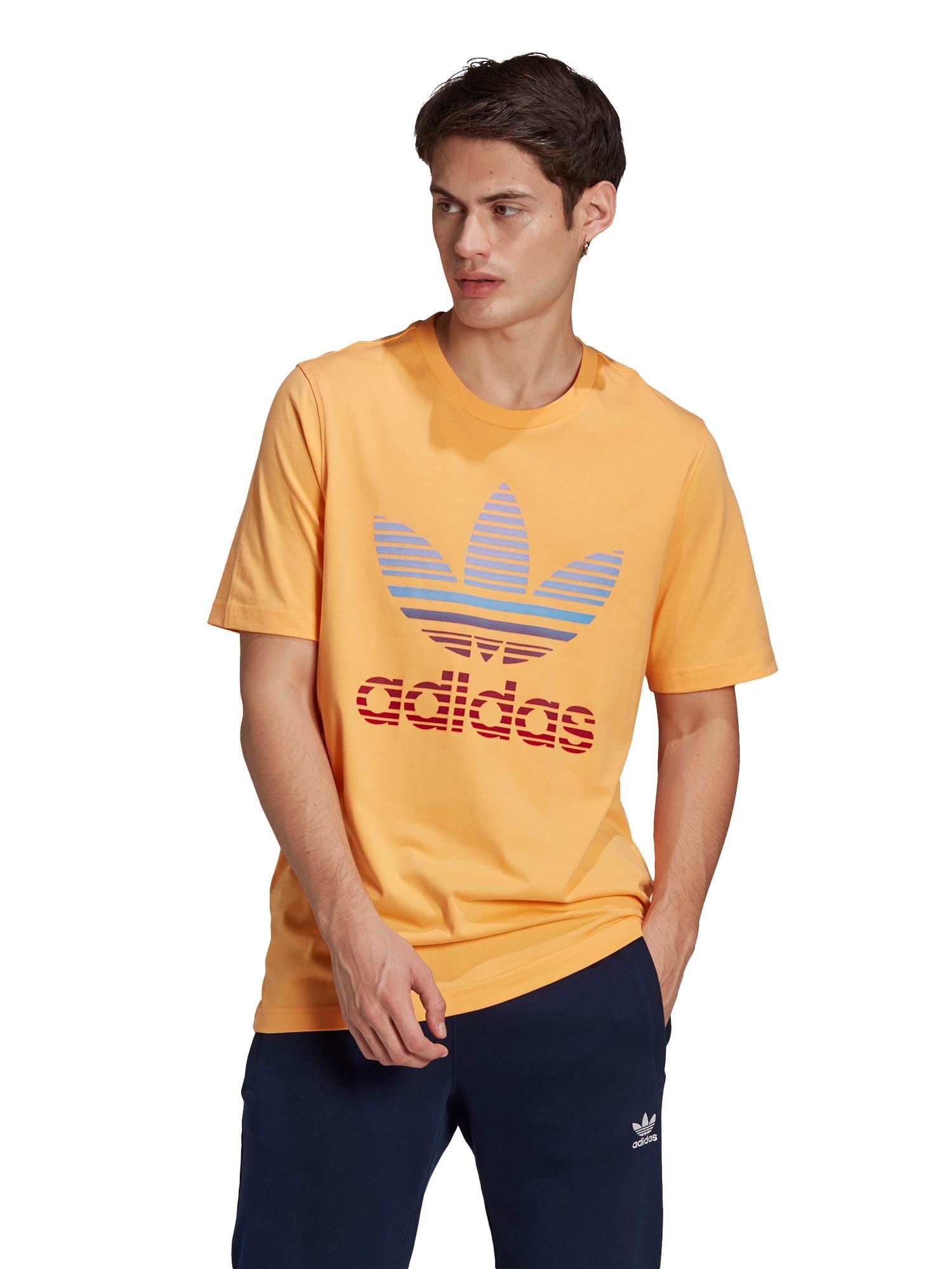 ADIDAS ORIGINALS Тениска TREFOIL OMBRE