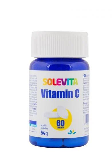 SOLEVITA Витамин С, 60 таблетки