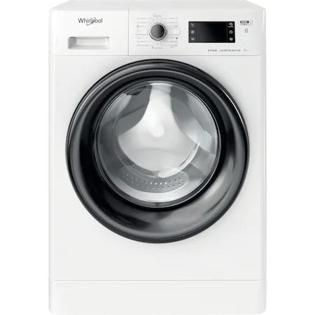 Пералня Whirlpool FWSG61282BVEEN, 6 кг, 1200 об/мин, Клас Е, Инверторен мотор, 6th Sense, Steam Refresh, Бял