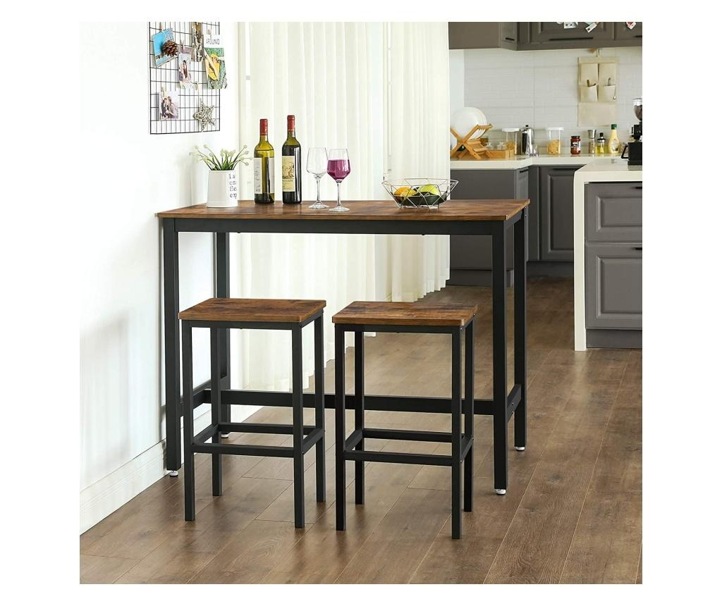Комплект бар маса и 2 бар стола Party