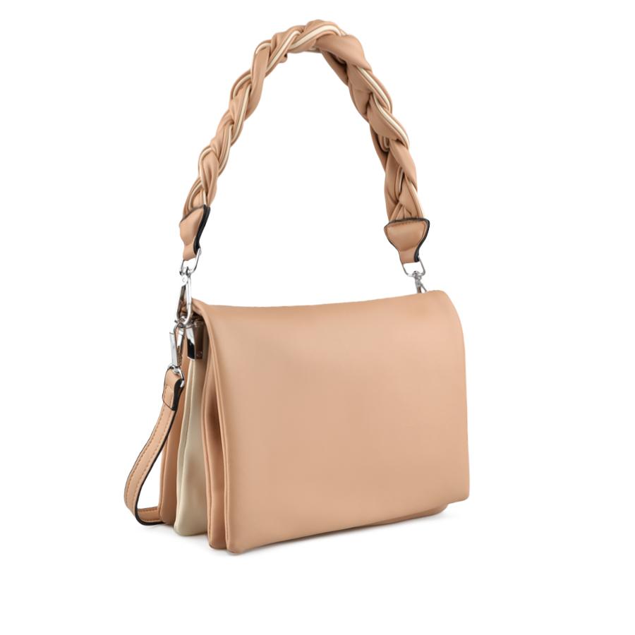 Дамска ежедневна чанта бежова