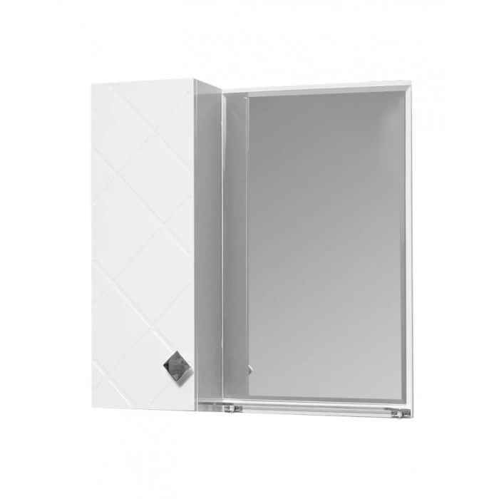 Горен шкаф за баня Макена Орбита с огледало 55x55x15см