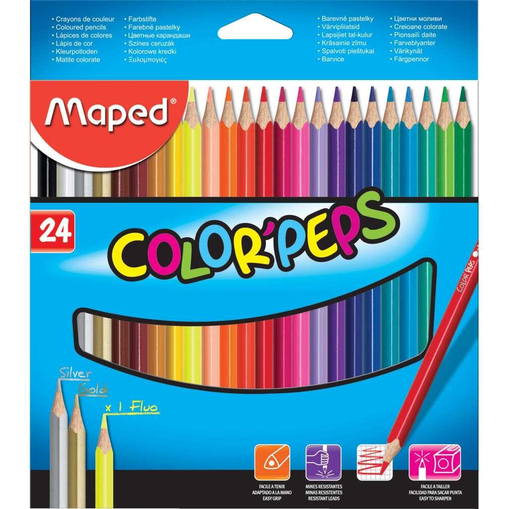 Цветни моливи MAPED