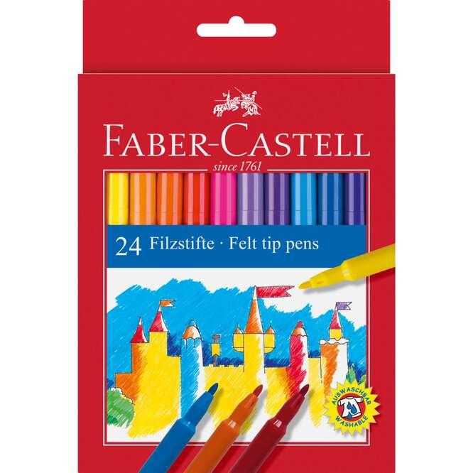 Флумастери FABER CASTELL