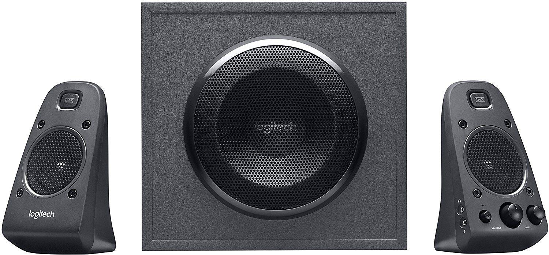 Аудио система Logitech Z625 – 2.1, THX звук, черна
