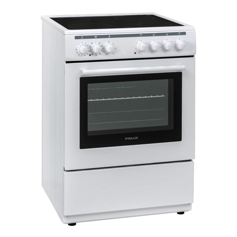 Готварска печка Finlux FLCM 6000A , Бял , Керамични