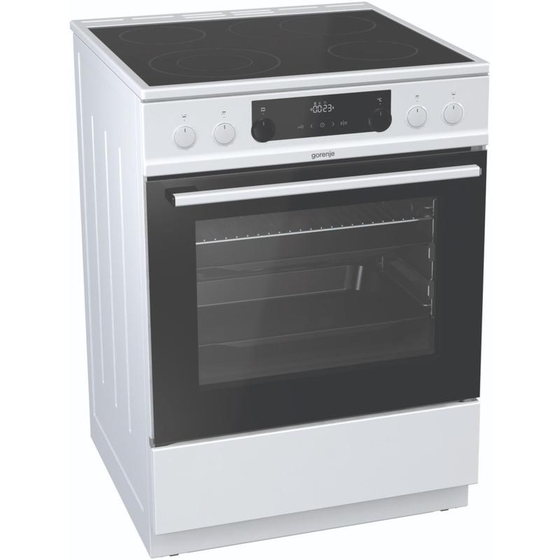 Готварска печка Gorenje EC6352WPA , Бял , Керамични