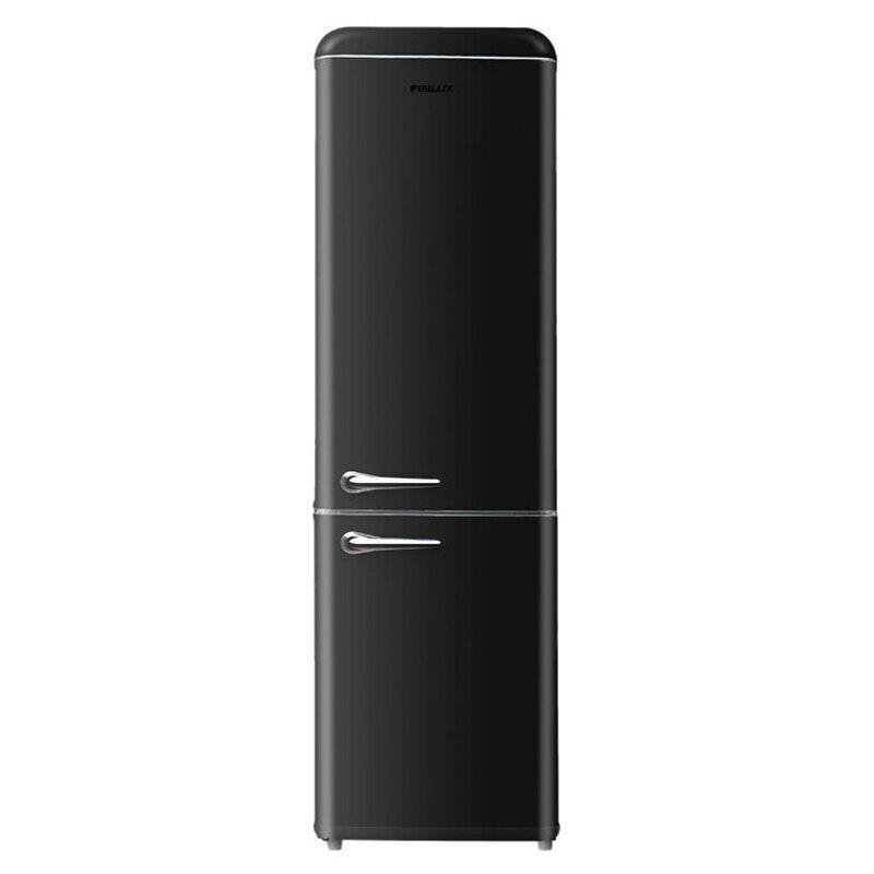Хладилник с фризер Finlux FBBL-260 , 250 l, F , Статична , Черен