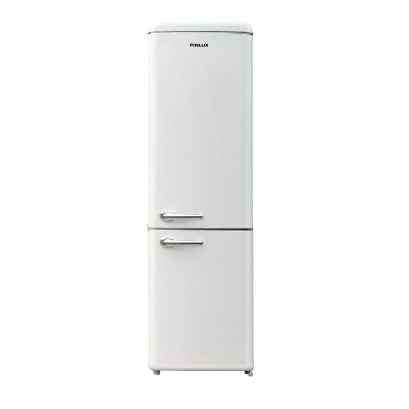 Хладилник с фризер Finlux FBVAN-260 , 250 l, F , Слонова кост , Статична