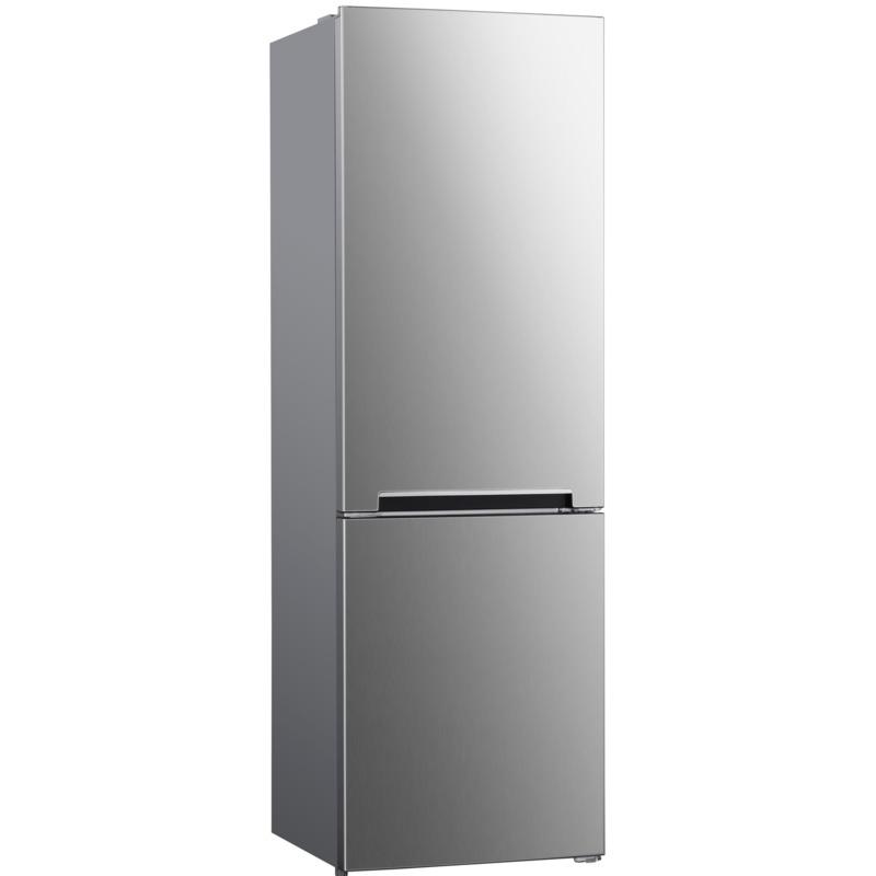 Хладилник с фризер PKM KG 320 NFIX , 293 l, E , No Frost , Инокс