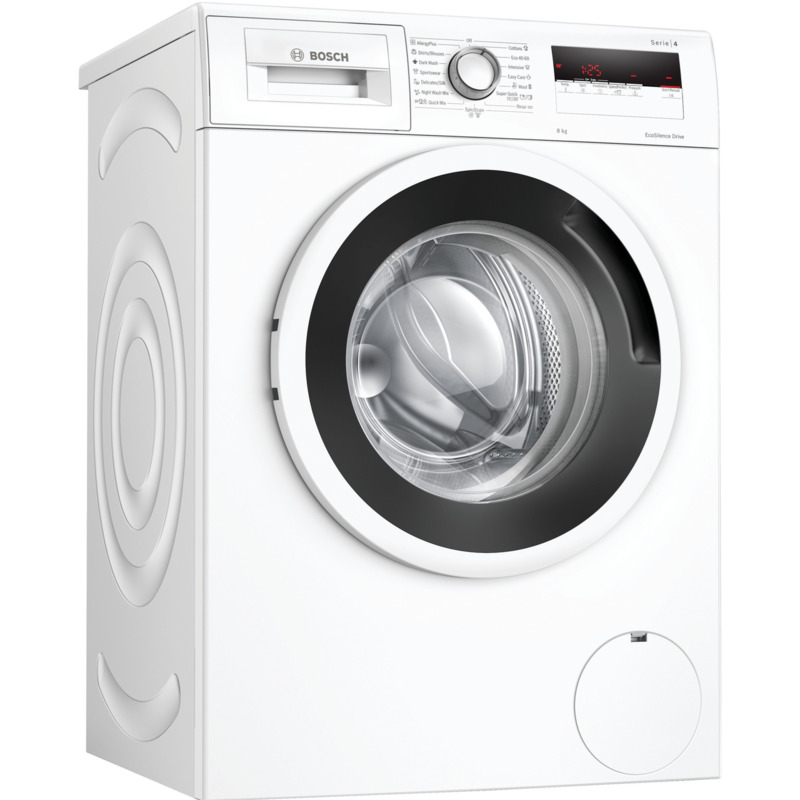 Пералня Bosch WAN24164BY , 1200 об./мин., 8.00 kg, C , Бял
