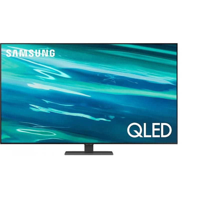 Телевизор Samsung QE55Q80AATXXH , 139 см, 3840×2160 UHD-4K , 55 inch, LED , Smart TV , Tizen