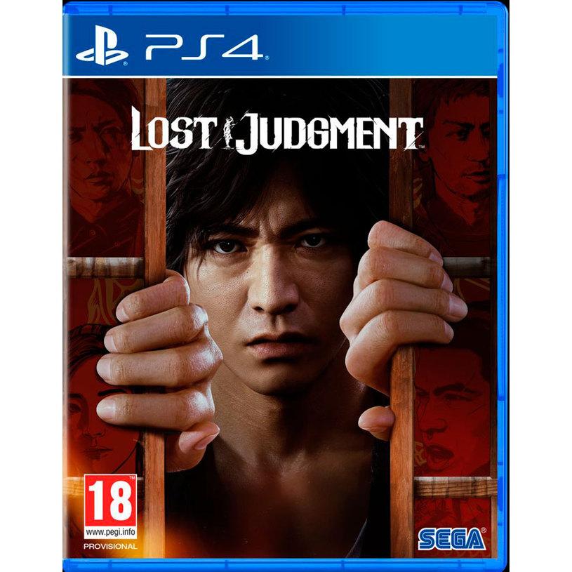 Игра LOST JUDGMENT PS4