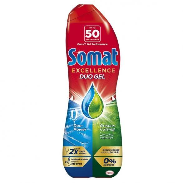 SOMAT EXCELLENCE Гел за съдомиялна, 50 измивания
