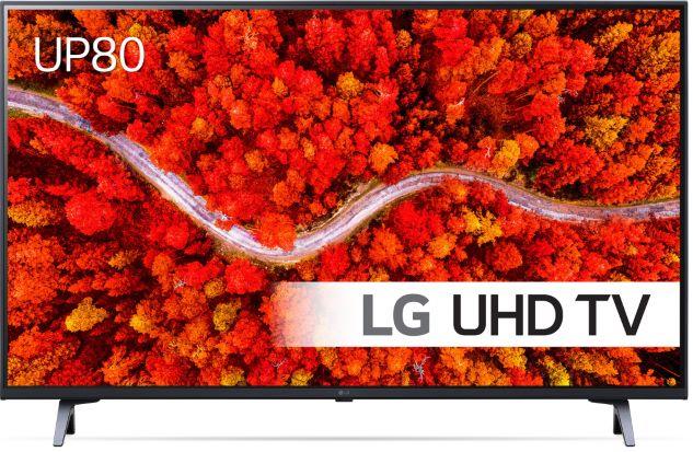 Телевизор LG 43UP80003LA, 43″ (108 см), Smart, 4K Ultra HD, LED, Клас G