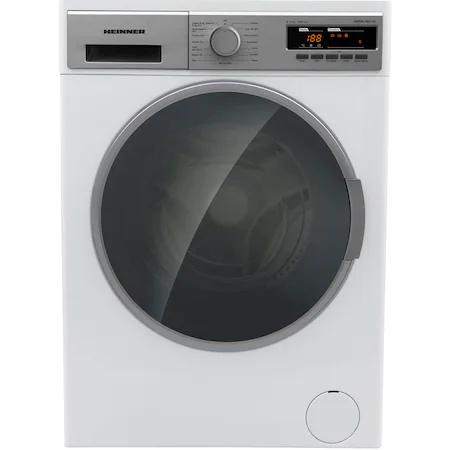 Пералня със сушилня Heinner HDWM-V8614D, 8 кг пране, 6 кг сушене, 1400 об/мин, Клас D, LED дисплей, Отложен старт, Eco Logic, Бял