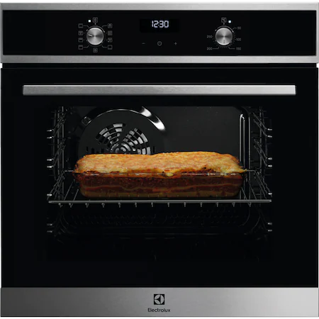 Фурна за вграждане Electrolux EZF5E40X, 57 л, SurroundCook, Even Cooking, Grill, Control Thermotimer, Клас A, Inox