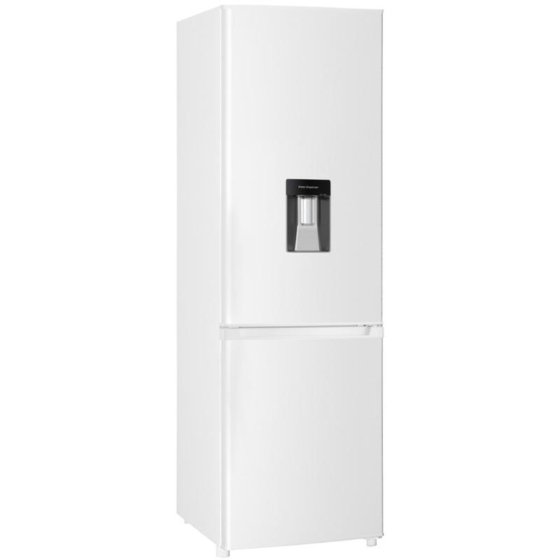 Хладилник с фризер Crown CBR-310D – ДИСПЕНСЕР , 313 l, F , Бял , Статична