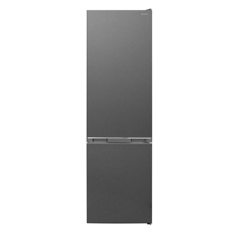 Хладилник с фризер Sharp SJ-BB10DTXLF , 341 l, F , Инокс