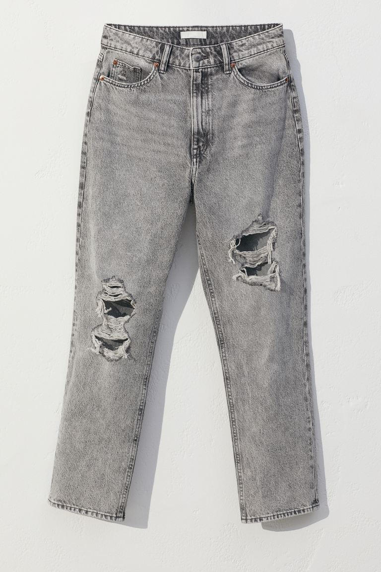Джинси Straight High Ankle Jeans