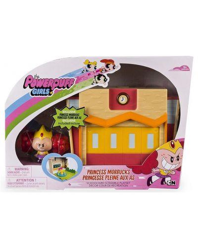 Игрален мини комплект с фигурка от Spin Master, Powerpuff Girls – Princess Morbucks в училище