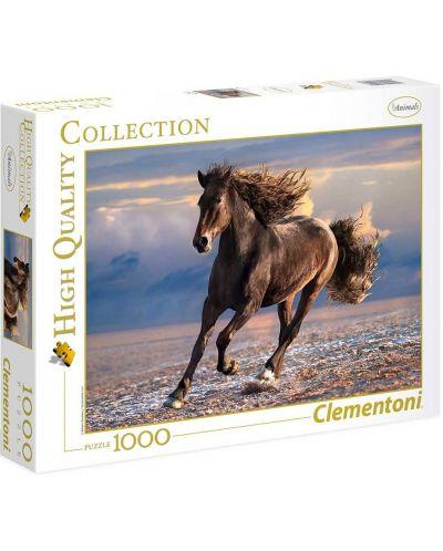 Пъзел Clementoni от 1000 части – Свободен кон